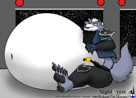 Big Bad fatty were: Wolf O Donnell by NightCrestComics