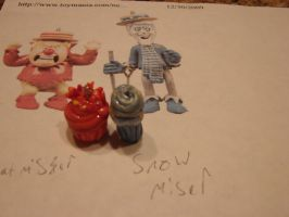 Heat Miser and Snow Miser by Iwasonceafairytale
