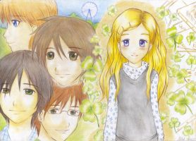Honey and Clover by Syu85