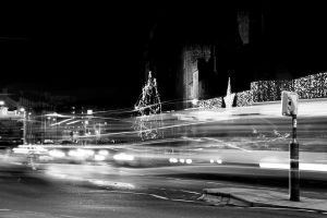 Cardiff Castle Traffic lights! Life behind Traffic by NH5Company
