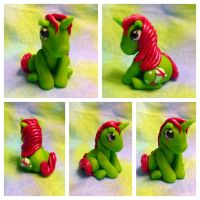 My little pony inspired Sparkle baby Gusty Unicorn by TempiesMenagerie