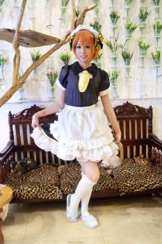 Rin Hoshizora - Maid Outfit by KYY24