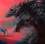 Red Dragon redux by LindseyWArt