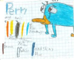 Perry and Color Sample by sammydavie