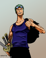 Zoro coloring, chapter 259 by AnnaHiwatari