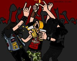 Tribute to metalheads by 1ringtofindthem