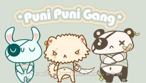 PuniPuni Gang by KuroSy