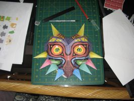 Majoras mask papercraft by TsRedeemer666