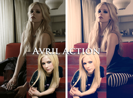 Avril Action. by Spenne