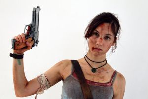 Lara Croft REBORN1 - IGAMES'13 by TanyaCroft