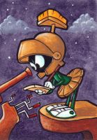 Marvin the Martian by Yote