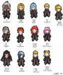 Organization XIII members by Blazing-Wings