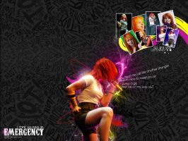 Hayley Williams wallpaper :D by anarkoBO1