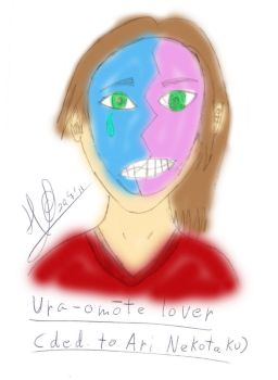 Ura-omote lover by Bionicle31