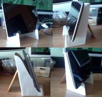 Paper stand for tablet v.2 by kotlesiu