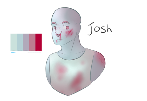 Dick bag boy Josh (colour pallet) by Timtams03