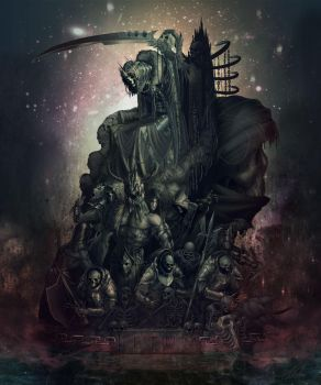 Statue Death by Eludor