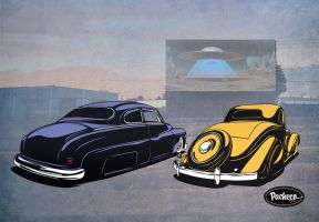 Sci Fy Drive In by PachecoKustom