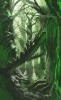 Fantasy Forest by Icarus667