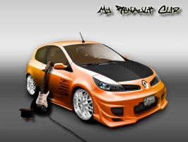 renault clio by dayakinjr