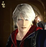 Nero in Devil May Cry 4 by Nefly099