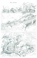 The Incredible Hulk - Issue 2 Page 13 PENCILS by MichaelBroussard