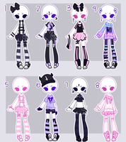 Outfit adopts:  NEW PASTEL CLOSED by Lunadopt