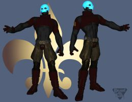 Bad Shadowman redesign by CWRudy