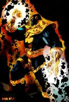 Thanos color by Mich974