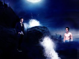 The Merman And The Prince by mishlee