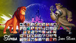 Disney fighting game roster by meauxthi
