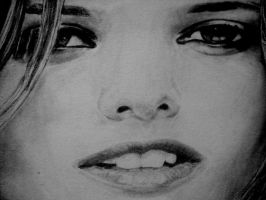 Close-up face by ljm96