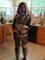 Tali WIP 7.1 - Front by Ivorybacon