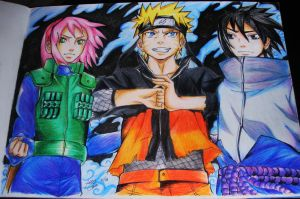 Team 7: Always and Forever xD by MinDi-Chan