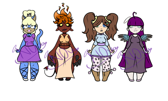 Girl Adopts ~4/4 OPEN~ by N0vaAd0pts