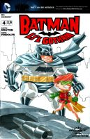 Batman and Carrie Kelley by wardogs101