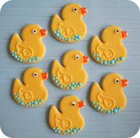 Rubber Ducky Sugar Cookies by cake4thought