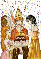 Ichigo's Birthday Party by Eien-no-hime