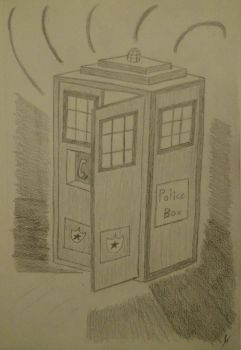 Shield Tardis by gameangel147