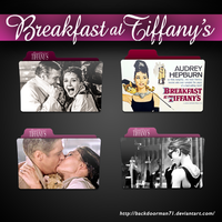 Breakfast at Tiffany's Movie Folder Icon Pack by backdoorman71