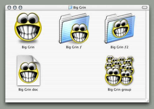 Big Grin Icons by smhill