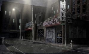 """Streets of """"The Line"""" by ThoRCX"""