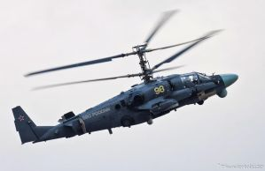 Kamov Ka-52 Alligator by Thunderbolt120