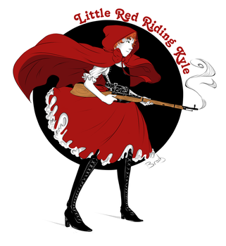 SouthPark - Little Red Riding Kyle by LazyEva