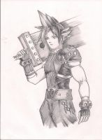 Cloud Strife by RyuTakatsuki16