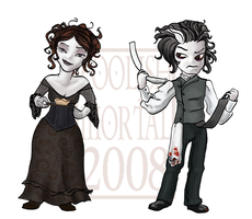 Sweeny Todd by lissa-quon