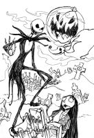 Jack Skellington by ClownDomain