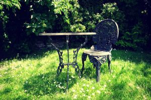Lonely Chair by Aroha-Photography