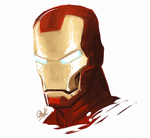 Iron Man by rollingrabbit