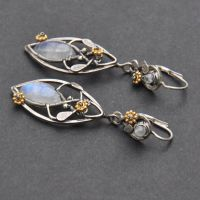 Lothlorien - elven filigree earrings by Eire-handmade